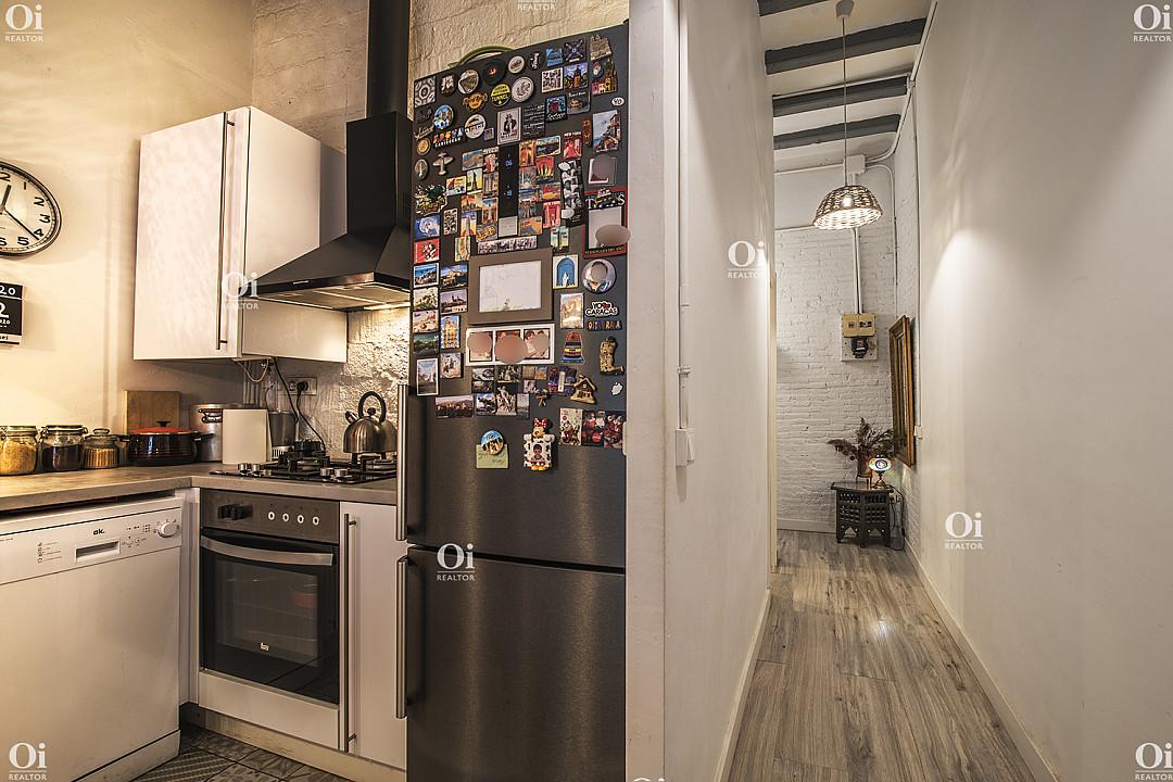 Продается квартира в районе Побле Сек, Барселона.