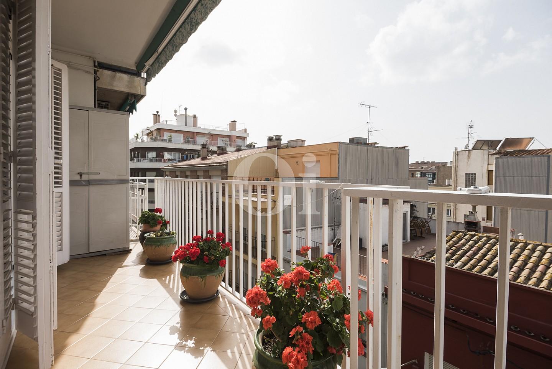 Buenas vistas desde la terraza del piso
