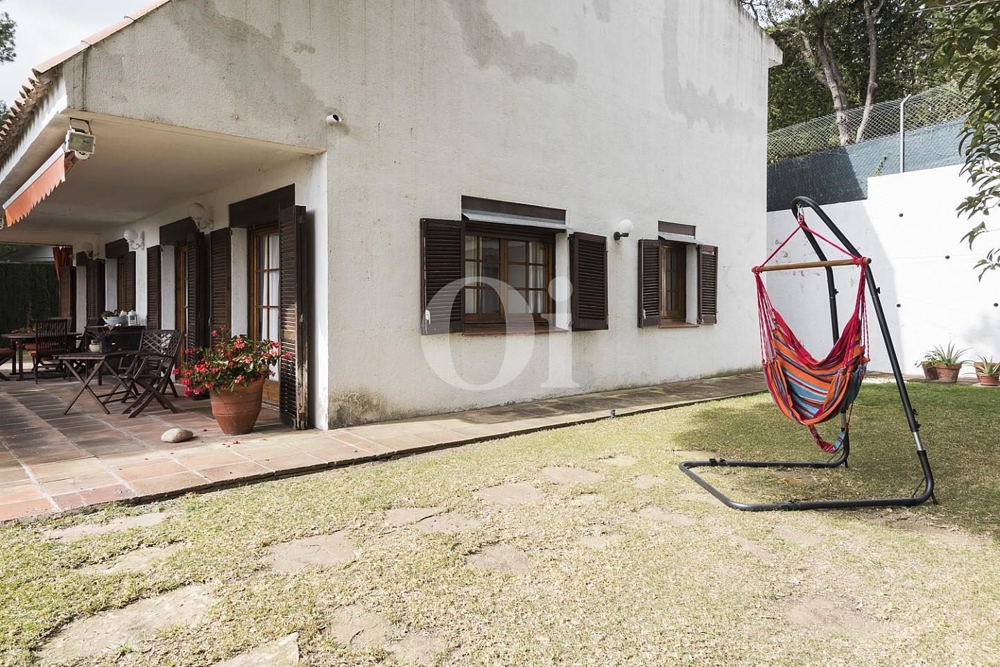 Parte lateral de la casa