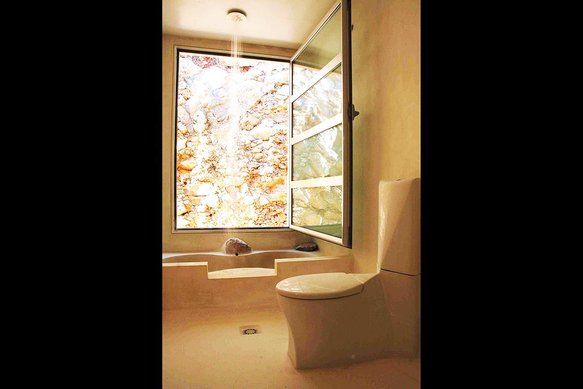 Ванная комната виллы в аренду в Эс Салинас