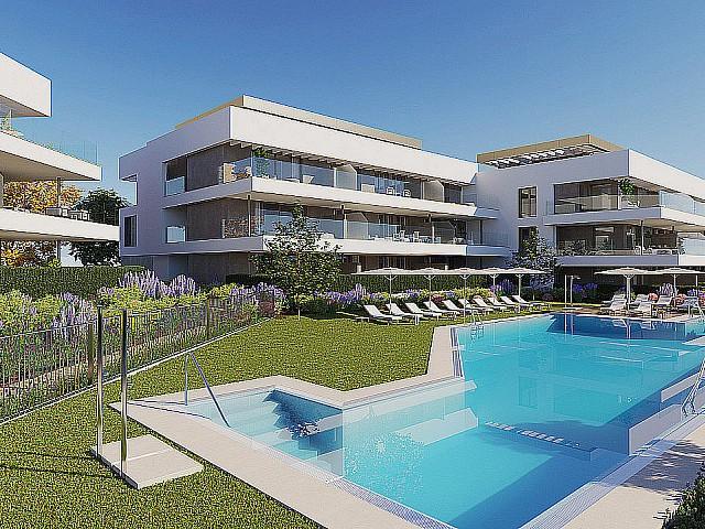Neubau Wohnungen zum Verkauf in Cancelada, Estepona, Málaga