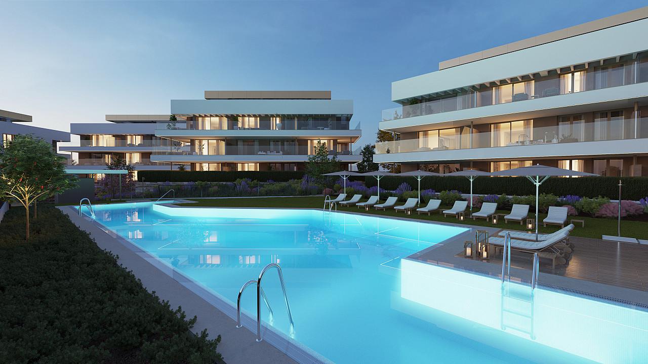 Новые квартиры для продажи в Cancelada, Estepona, Málaga
