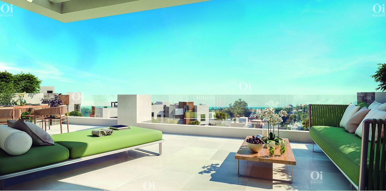 Продажа новых квартир в CaboPino, Марбелья, Малага