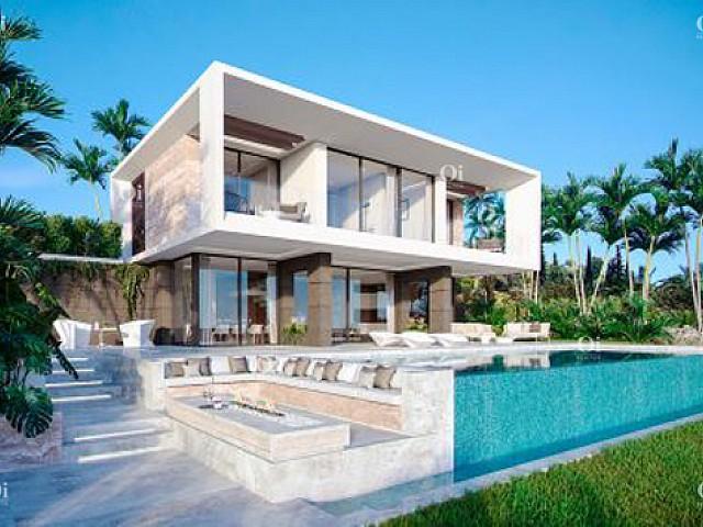 马拉加埃斯特波纳待售的新建别墅