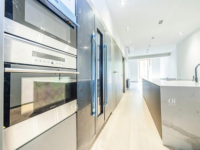 Attico duplex in vendita nelle Ramblas 98 di Barcellona