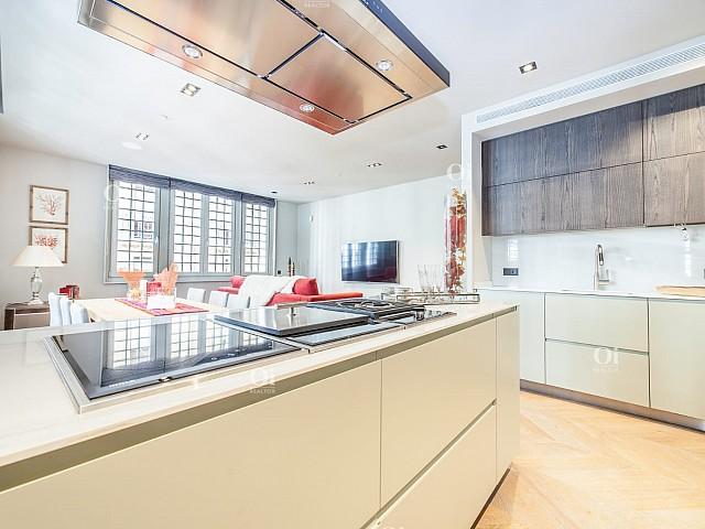 Verkauf einer neuen und möblierten Wohnung in der Via Layetana