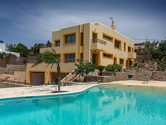 Fantàstica vila en lloguer de vacances a Talamanca, Eivissa