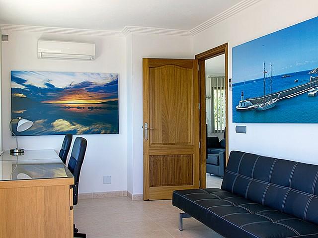 Zona de despacho en el piso superior