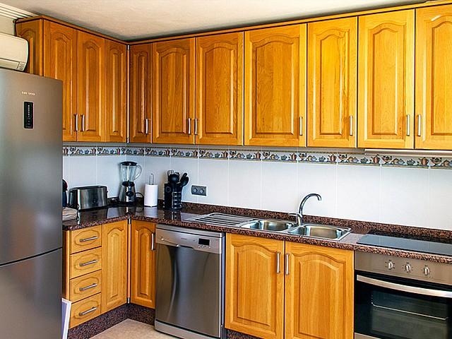 Cocina espaciosa, totalmente equipada