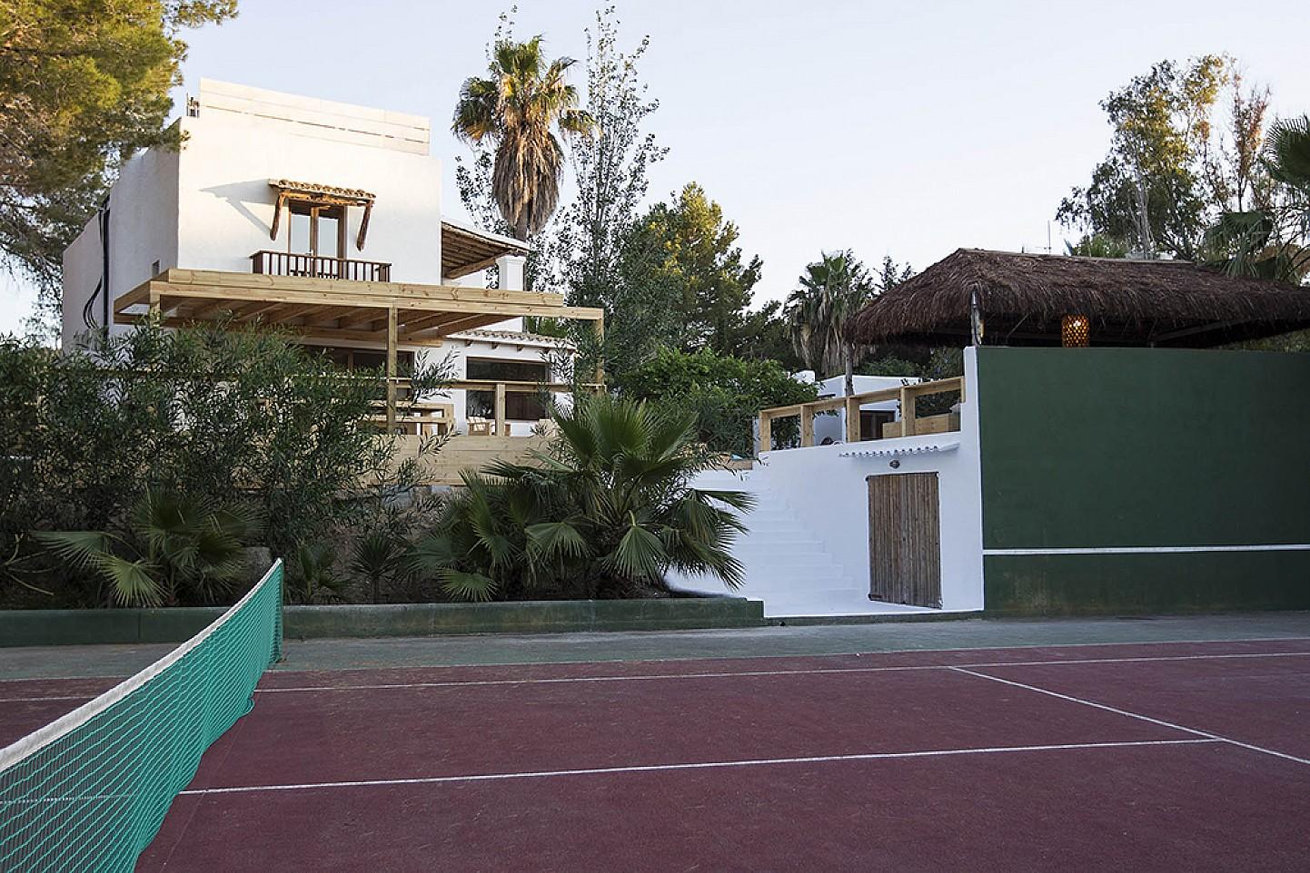 Fabulosa pista de tennis