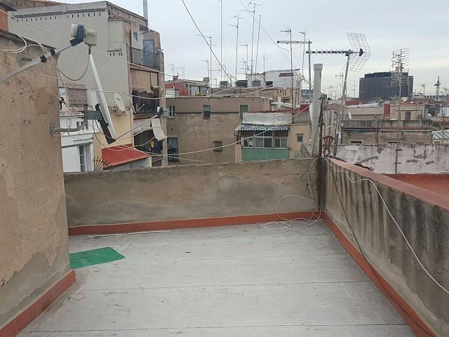 Terraza de edificio en venta de Barcelona