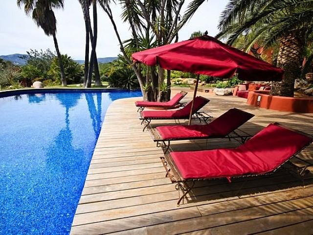 Marvellous villa with impressive views for sale in Cala Jondal, Ibiza