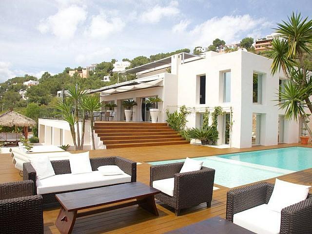 Fabulosa villa en venta en lugar privilegiado en Las Salinas, Ibiza