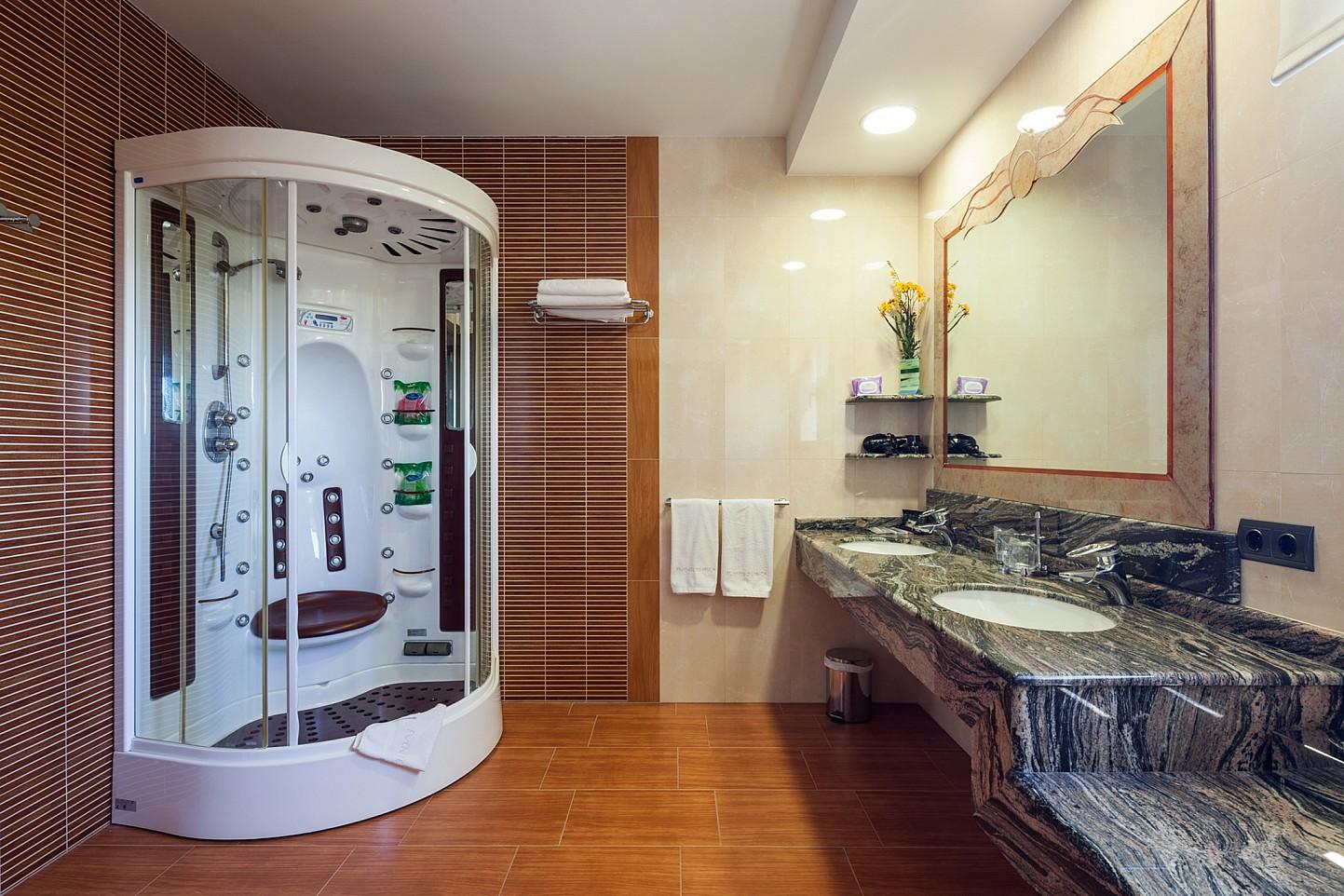 Ванная комната виллы в аренду в Сан Хосе
