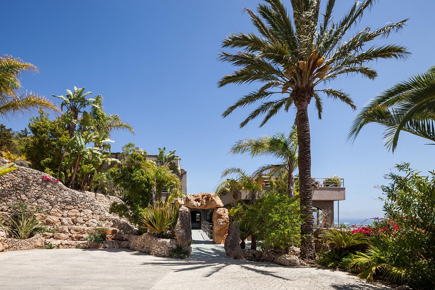 Сад  виллы в аренду в Сан Хосе