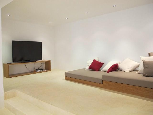 Sala d'estar amb TV