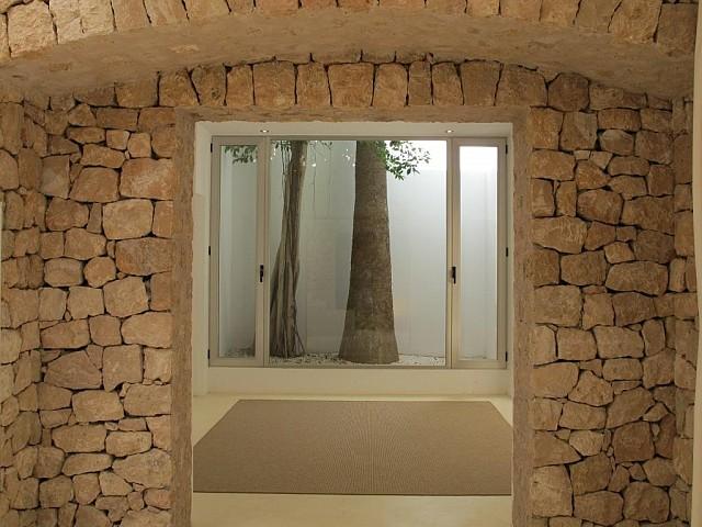 Vistes interiors de la vila