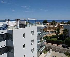 Atico con magnificas vista y gran terraza, Santa Eulalia, Ibiza