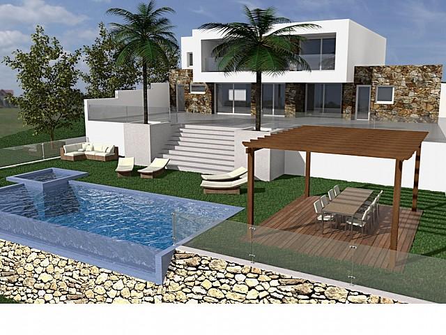 Exclusive villa for sale in the Roca Llisa residential area in Ibiza