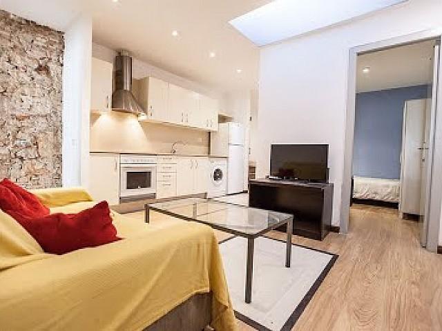 Bonito piso reformado en El Raval