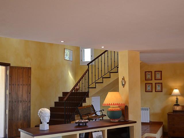 Vistas interiores de la villa