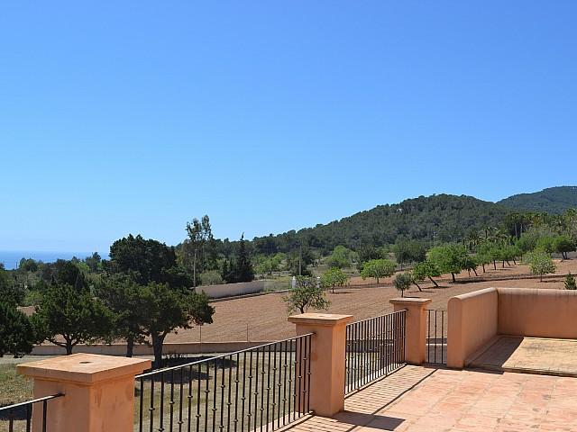 Buenas vistas desde la villa