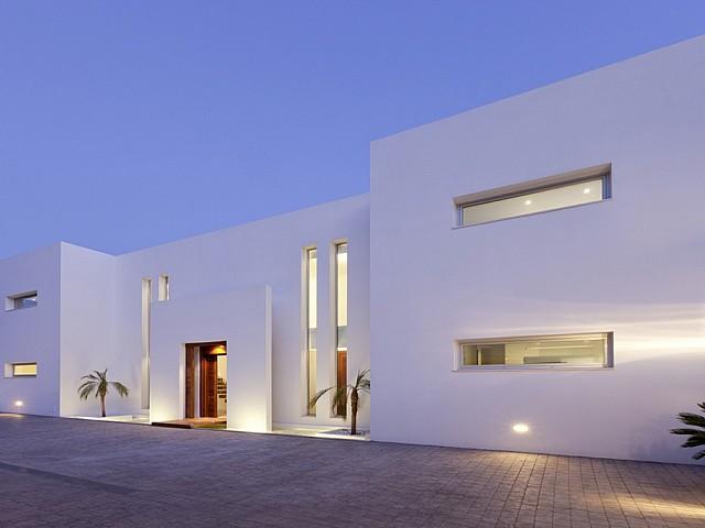 Esplèndida vila de luxe en lloguer a la urbanització de Vista Alegre, Eivissa