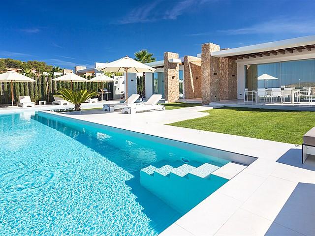 Fantàstica vila moderna a prop de Cala Compte, Eivissa