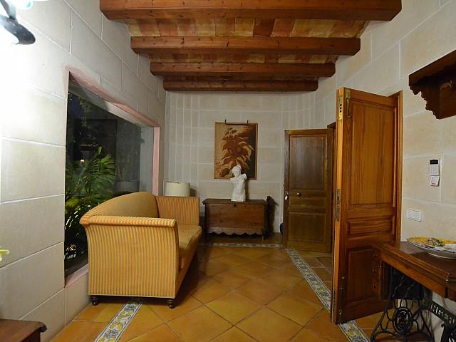 Vistes interiors de la casa
