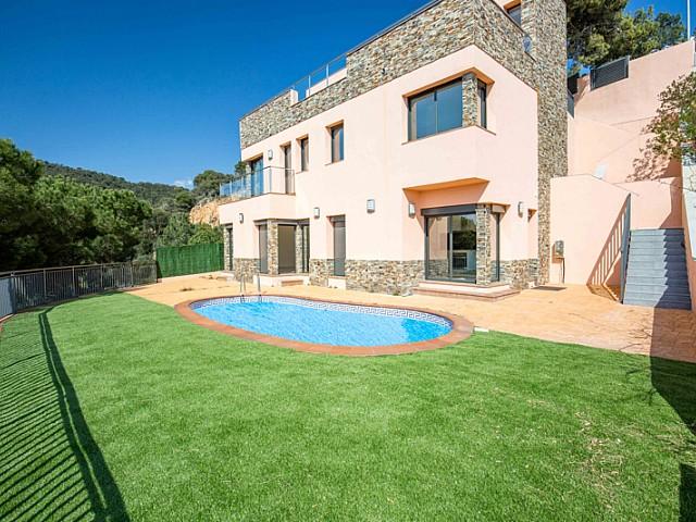 New-build property in prestigious residential area in Lloret de Mar, Costa Brava