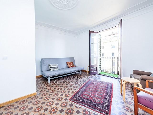 Precioso piso en alquiler en el Eixample de Barcelona.