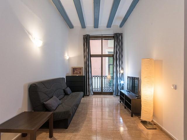 Grazioso appartamento esterno arredato a Gótico