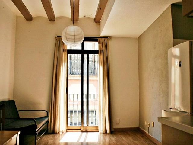Licht appartement met 2 slaapkamers en balkon in Gótico