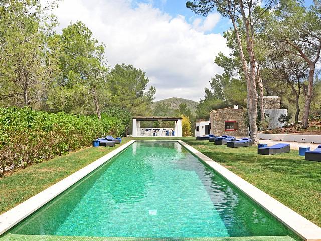 Magnífica piscina infnity pool