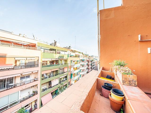 Ático en alquiler en calle Guitard en Les Corts en Barcelona