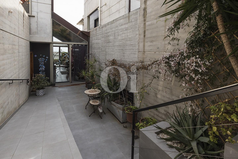 Внутренний дворик дома в Кальдес дЭстрак