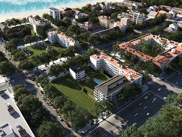 Apartment in new construction in Pineda de Mar.