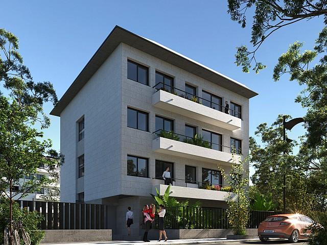Nieuw drie slaapkamer appartement te koop in Pineda de Mar.