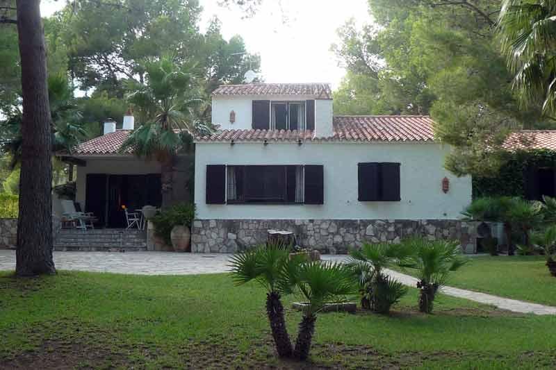 Внешний облик дома в Амелья де Мар