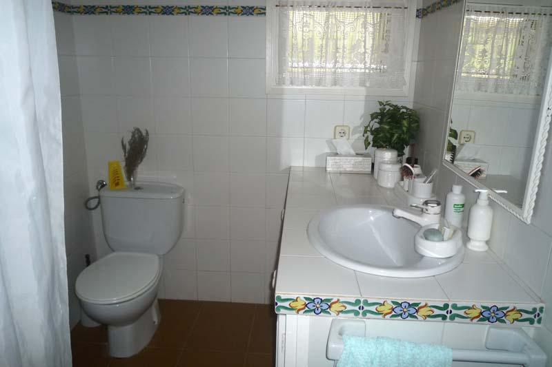 Ванная комната дома в Амелья де Мар