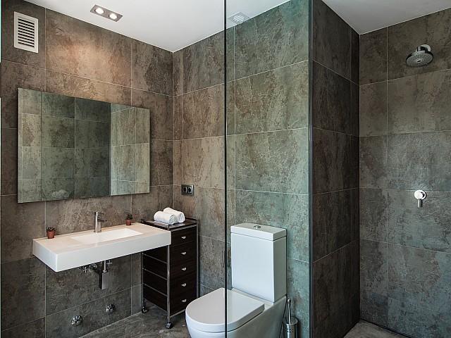 Ванная комната виллы в Сан Агустин