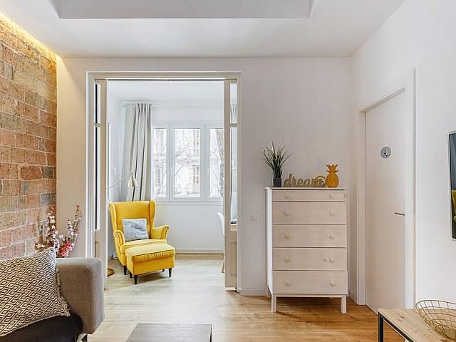 آپارتمان با طراحی زیبا در Eixample Derecho