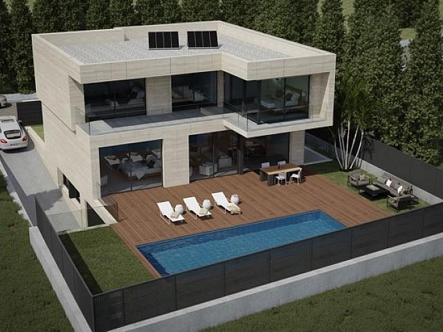 Современный дом в Плайя де Аро