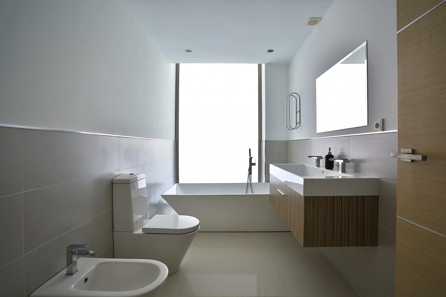 Ванная комната виллы в аренду в Кап Мартинет