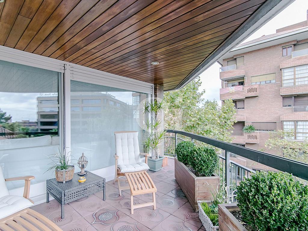 Солнечная терраса квартиры в Трес Торрес