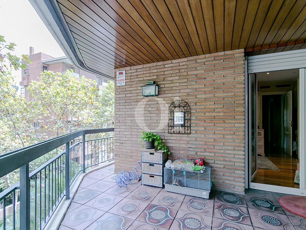 Потрясающая терраса квартиры в Трес Торрес