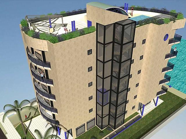 Проект здания в Розес, Ампурда