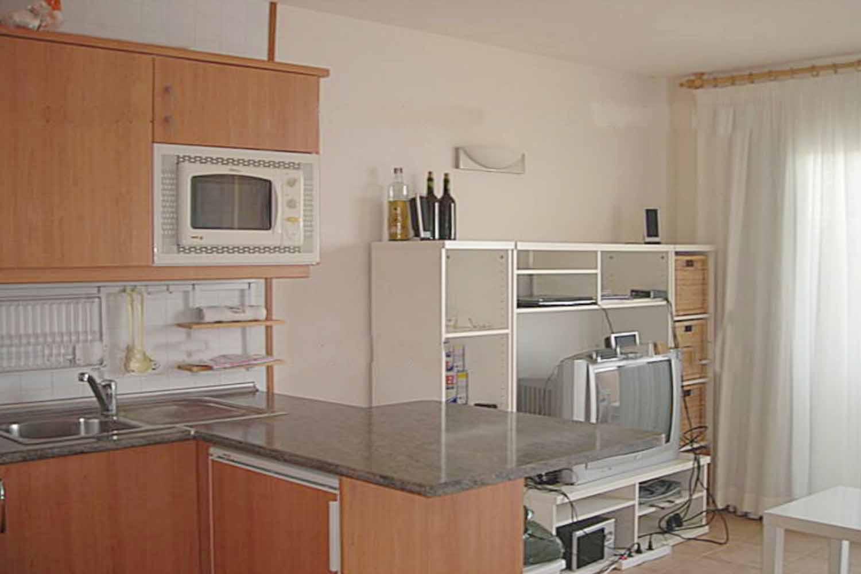Встроенная кухня квартиры на продажу на Ибице