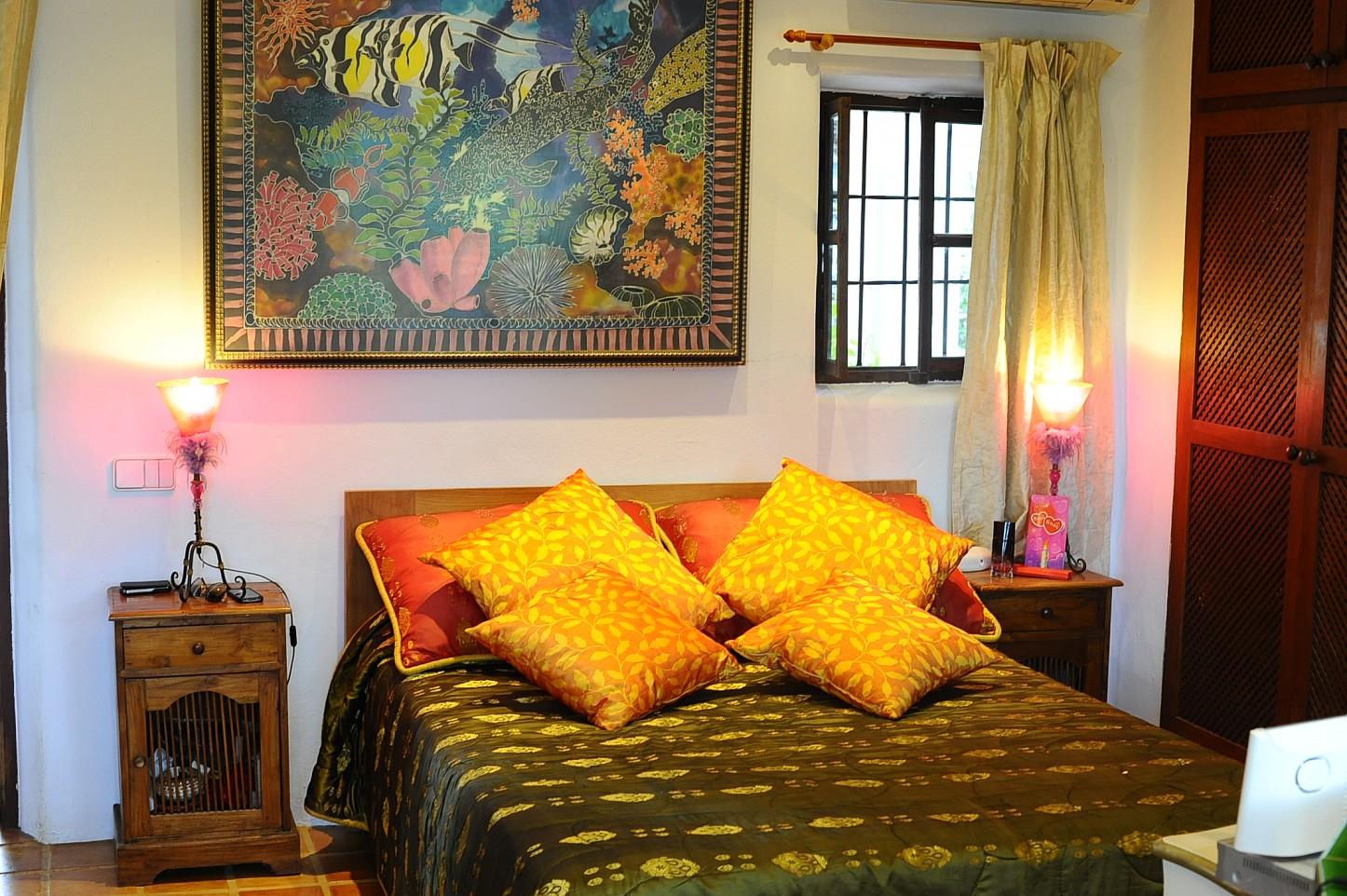Уютная гостиная виллы на Ибице