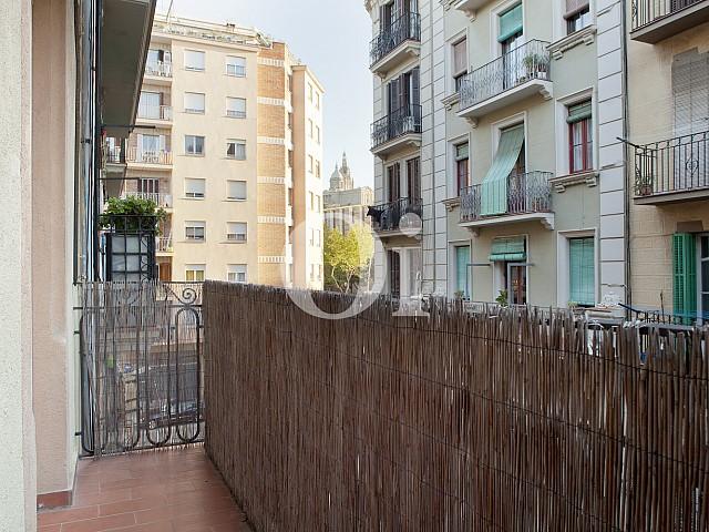 Балкон квартиры в Побле Сек